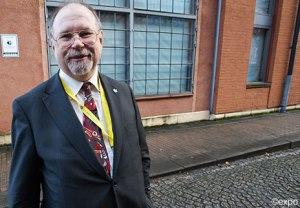 Axel W Karlsson, Sverigedemokraterna, vid partiets landsdagar i Gšteborg 2011.