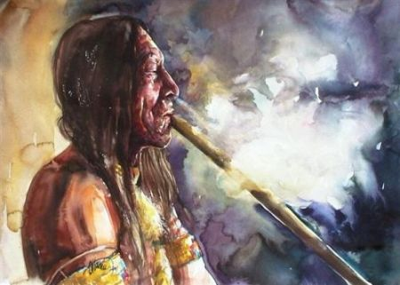 indian_with_peace_pipe