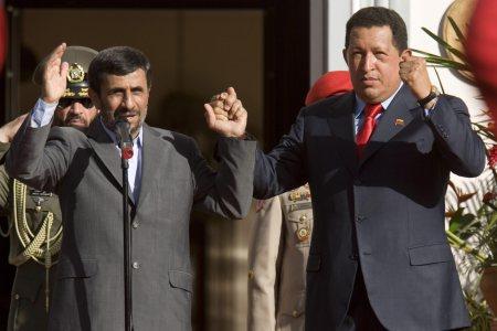 MAHMOUD AHMADINEJAD VISITS VENEZUELA