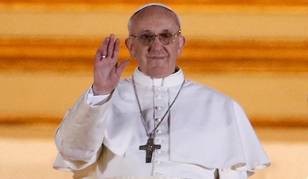 ARGENTINIAN IS NEW POPE