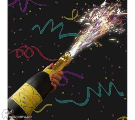 festlig-champagneflaska