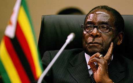 Oron i zimbabwe robert mugabes tid ar ute