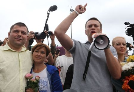 Alexei Navalny returns to Moscow