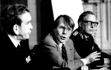 Anders Thunborg och Lennart Ljung.