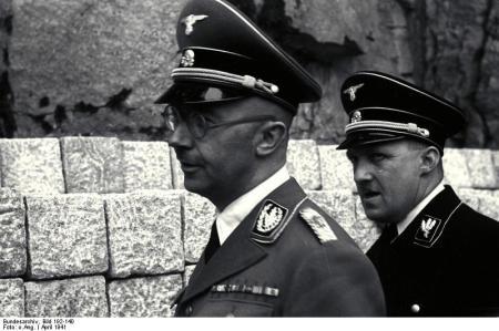 KZ Mauthausen, Himmler mit Eigruber