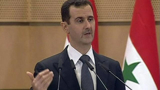 Skottvaxling mellan israel och syrien