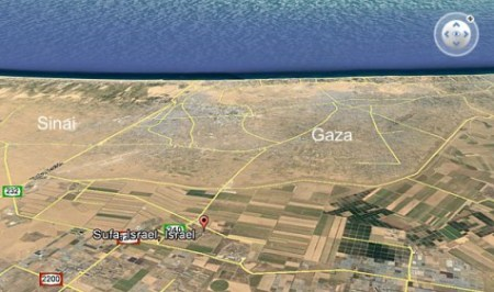 Kibbut-Sufa-Map