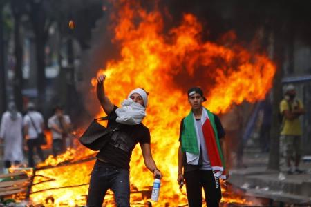 APTOPIX France Gaza Protest