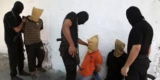 Militanta muslimer avrattade