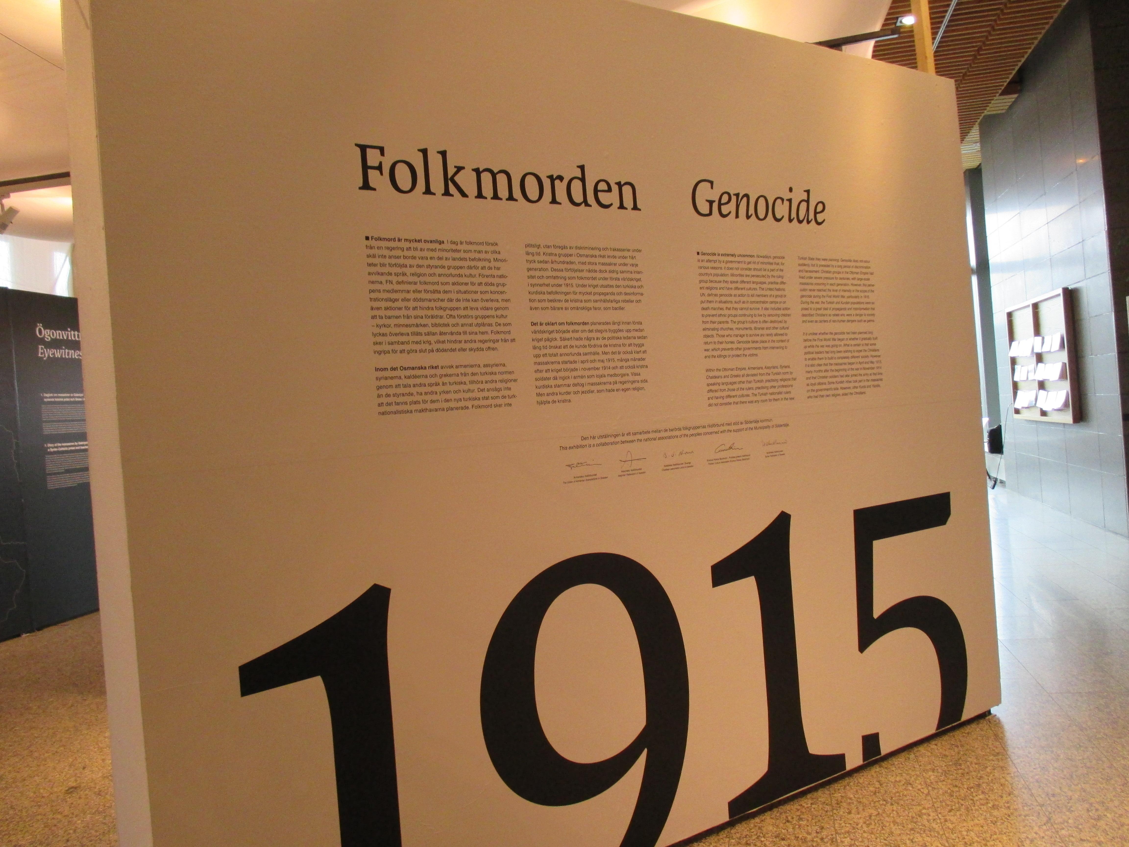 Inget folkmord i balkankrig