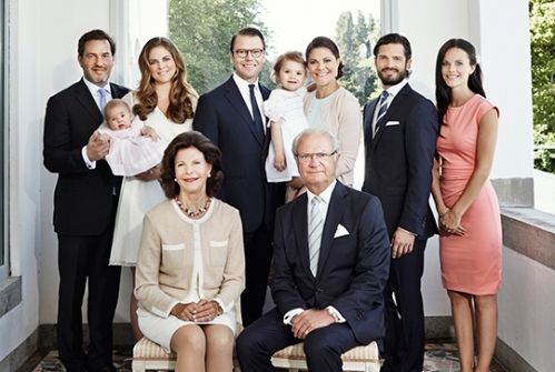 Kungafamiljen/ The Swedish Royal Family Sollidens Slott juli 2014/ Solliden Palace July 2014