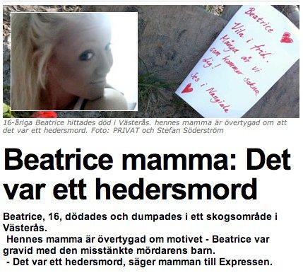 BeaHedersMord