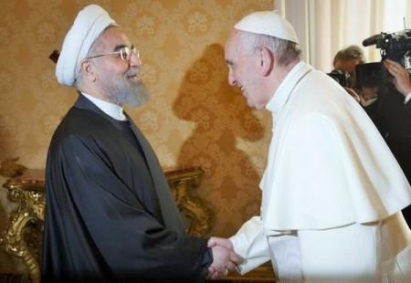 Se-Rouhani-incontra-Papa-Francesco-per-parlare-di-tolleranza