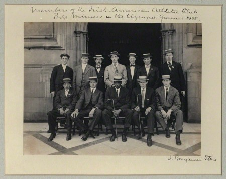 by Sir (John) Benjamin Stone, platinum print in card window mount, 29 July 1908
