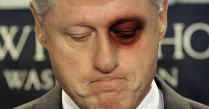 Clinton anser sig svartmalad